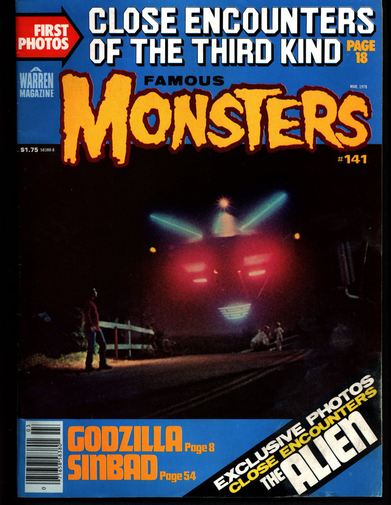 FAMOUS MONSTERS 141 Star Wars Science Fiction Fantasy Classic Alien  GODZILLA CE3K Close Encounters of the 3rd Kind Aliens