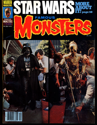 FAMOUS MONSTERS 139 Star Wars Science Fiction Fantasy Classic Vampires Werewolves Invading ALIENS