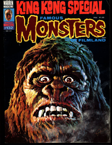 FAMOUS MONSTERS 132 Horror Science Fiction Fantasy Classic King Kong Special QUATERMASS Fritz Lang Fairy Tale Monsters Bela Lugosi