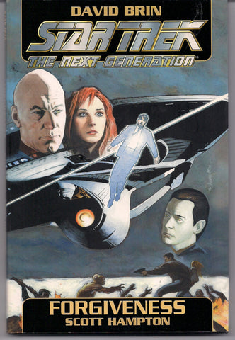 STTNG Star Trek the Next Generation Forgiveness by David Brin SCOTT HAMPTON Graphic Novel Science Fiction Fantasy Comics
