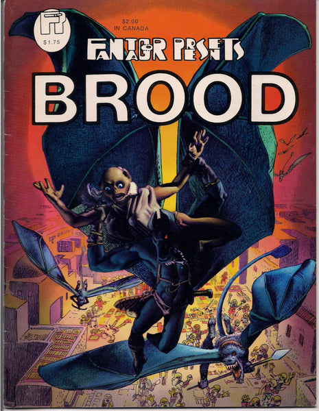Rich CORBEN BROOD Fantagor #5 Color & Black White Science Fiction Fantasy Graphic Novel Collection
