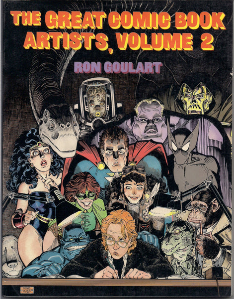 The Great Comic Book Artists 2 Ron Ghoulart Boland Bissett Craig R Crumb Wll Elder Moebius Ingels Robbins Stevens  Graphic Art Collection