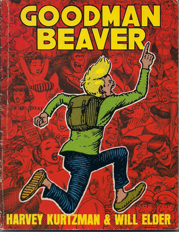 GOODMAN BEAVER Harvey Kurtzman Will Elder Jungle Book Help! Magazine Stories