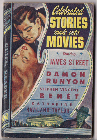 Celebrated Stories Made into Movies DAMON RUNYON Lady for a Day James Street Benet Royce Quick Readers #127 Trashy Movie Pulp Fiction 1944