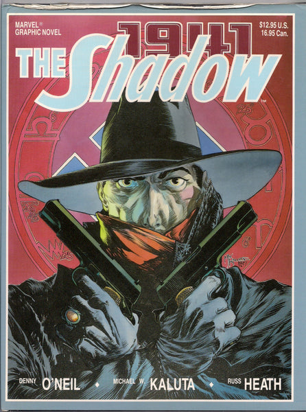Marvel Comics Graphic Novel The SHADOW 1941 Hitler's Astrologer Michael W KALUTA Russ HEATH World War 2 German Nazi Himmler Goebbels Rudolph
