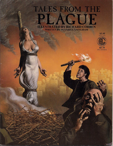 RICHARD CORBEN Tales From the PLAGUE Bubonic Plague Black Death Horror Underground Comic Book Graphic Novel