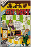 Bored With Life? GET LOST #1 Ross Andru Mike Esposito Wonder Woman Comics 1954 Reprint ZANY Satire Humor PinUp Cartoon Comic