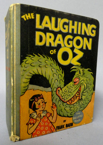 Laughing Dragon of OZ L FRANK BAUM Whitman blb Big Little Book 1934 Classic Illustrated Fantasy Pulp Childrens Book