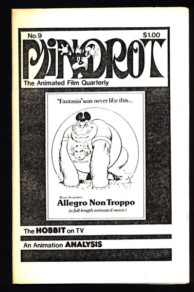 MINDROT #9 Allegro non Tropo HOBBIT TV Movie Animation Anime Cartoons Fan Magazine