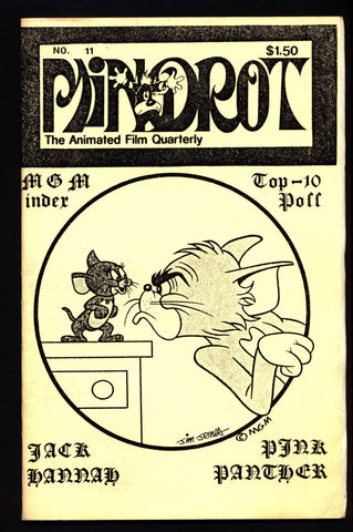 MINDROT #11 Jack Hanna MGM Tom & Jerry Animation Anime Cartoons Fan Magazine