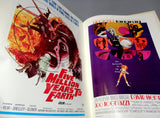 SCIENCE FICTION HORROR Movie Posters In Full Color Lobby Cards Poster Book Curse of the Demon King Kong Quatermass Barbarella Harryhausen