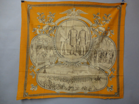 3 KAISERS Commemorative Wall Hanging Berlin 1872 Emperor Francis Joseph Kaiser Wilhelm I Germany Tsar Alexander II Russia Otto von Bismarck
