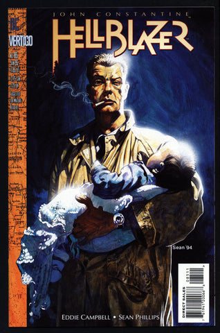 DC Comics Vertigo Press John CONSTANTINE HELLBLAZER #85 Eddie Campbell Supernatural Magic Gothic Horror Anti-Super Hero Goth