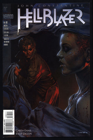 DC Comics Vertigo Press John CONSTANTINE HELLBLAZER #80 Garth Ennis Supernatural Magic Gothic Horror Anti-Super Hero Goth