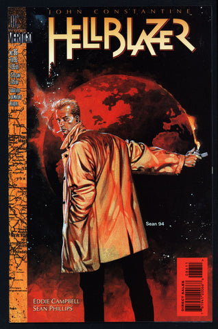 DC Comics Vertigo Press John CONSTANTINE HELLBLAZER #86 Eddie Campbell Supernatural Magic Gothic Horror Anti-Super Hero Goth