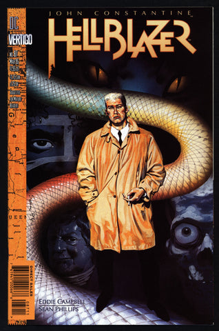 DC Comics Vertigo Press John CONSTANTINE HELLBLAZER #87 Eddie Campbell Supernatural Magic Gothic Horror Anti-Super Hero Goth