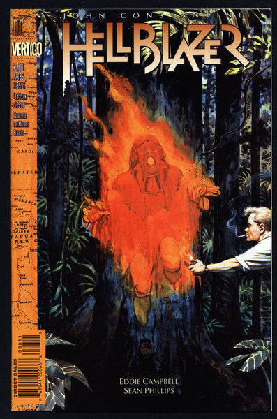 DC Comics Vertigo Press John CONSTANTINE HELLBLAZER #88 Eddie Campbell Supernatural Magic Gothic Horror Anti-Super Hero Goth