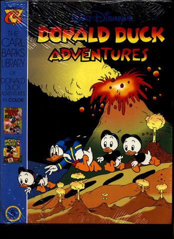 SEALED Walt Disney's Donald Duck Adventures The CARL BARKS Library of Donald Duck Adventures in Color #5 N M With Card