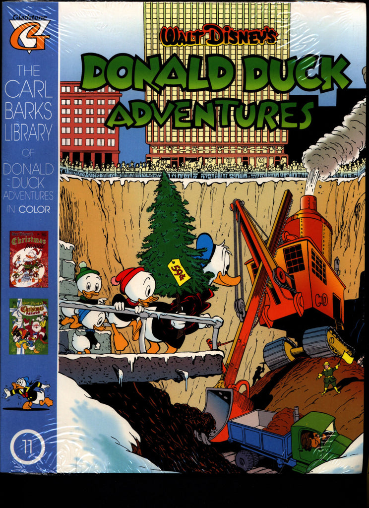 SEALED Walt Disney's Donald Duck Adventures The CARL BARKS Library of  Donald Duck Adventures in Color #11 N M With Card