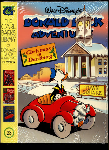 SEALED Walt Disney's Donald Duck Adventures Comics CARL BARKS Library of Walt Disney's Comics and Stories in Color #23 N M With Card