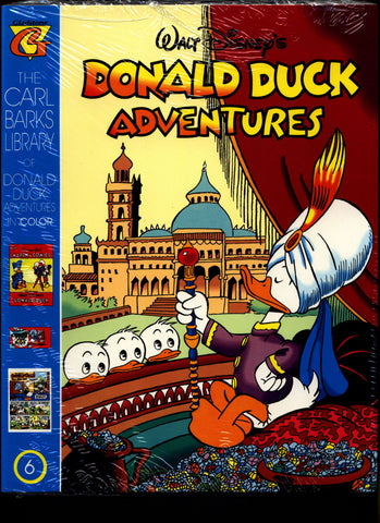 SEALED Walt Disney's Donald Duck Adventures The CARL BARKS Library of Donald Duck Adventures in Color #6 N M With Card
