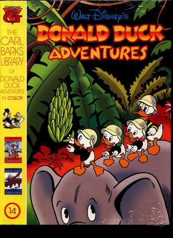 SEALED Walt Disney's Donald Duck Adventures The CARL BARKS Library of Donald Duck Adventures in Color #14 N M With Card