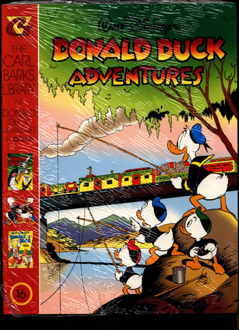 SEALED Walt Disney's Donald Duck Adventures The CARL BARKS Library of Donald Duck Adventures in Color #16 N M With Card