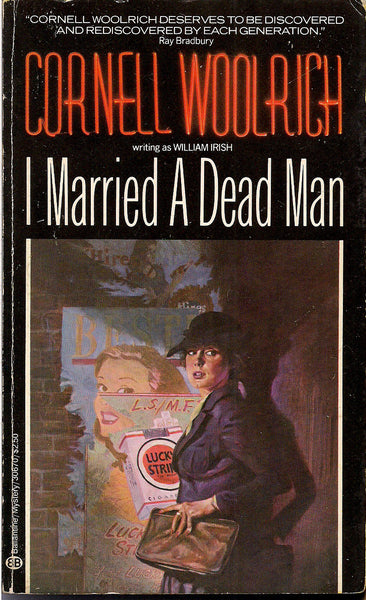 I Married A Dead Man Cornell Woolrich William Irish Hardboiled Crime Noir Pulp Fiction First Paperback
