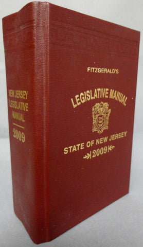 Fitzgerald's New Jersey Legislative Manual of the Legislature of New JerseyTwo Hundred and Thirteenth Legislature Second Session