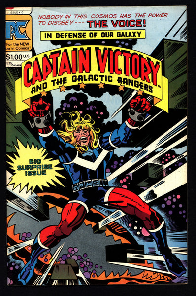 CAPTAIN VICTORY & Galactic Rangers #10 Jack Kirby Science Fiction Cosmic Space Opera Pacific Independent Alternative Comics