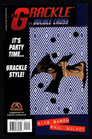 GRACKLE #2 Doublecross Mike Baron Paul Gulacy Crime Mystery Hardboiled Noir Alternative contemporary urban politics gangs drugs story Comic