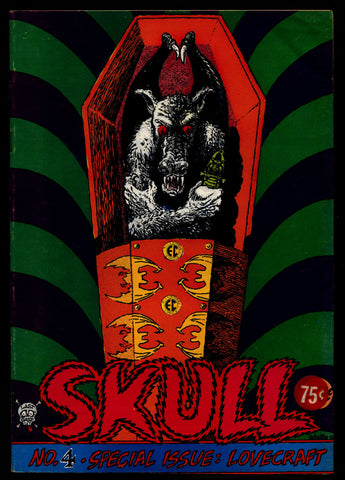 SKULL #4 Last Gasp H P LOVECRAFT E C Comics Style Deitch Todd Jaxon Sheridan Mature ADULT Horror Sex Psychedelic Hippy Underground Comic
