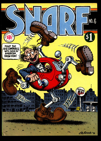 SNARF #6 2nd Robert CRUMB Beck Justin Green Rudahl Richards Armstrong Hallgren ADULT Sex Psychedelic Hippy Underground