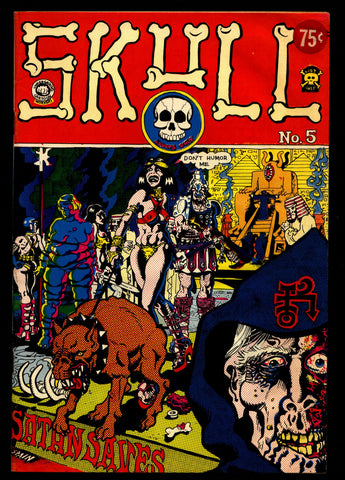 SKULL #5 Last Gasp Richard Corben Larry Todd Jaxon Sheridan Mature ADULT Dope Drugs Sex Psychedelic Hippy Underground Comic