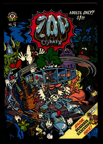 ZAP Comix #5 3rd Robert CRUMB Apex Novelty ADULT Dope Drugs Sex Psychedelic Hippy Underground Comic
