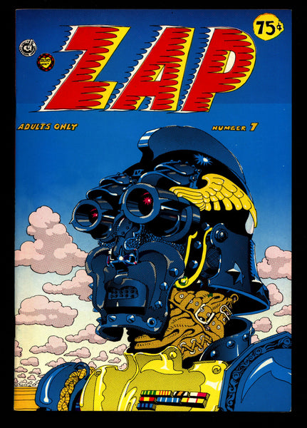 ZAP Comix #7 2nd Robert CRUMB Spain Griffin Moscoso Shelton Wilson Williams Apex Novelty ADULT Dope Drugs Sex Psychedelic Hippy Underground