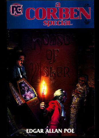 a CORBEN SPECIAL Rich Corben Edgar Allan POE Horror Underground Anthology Pacific Comics