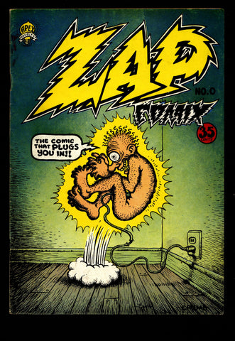 ZAP Comix #0 3rd Robert CRUMB Apex Novelty Mr. Natural Flakey Foont ADULT Dope Drugs Sex Psychedelic Hippy Underground Comic *