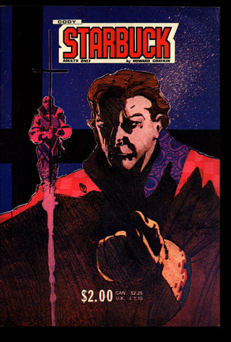 CODY STARBUCK Howard CHAYKIN Swashbuckling Science Fiction Cosmic Adventure Star Reach Mature Comic Book *