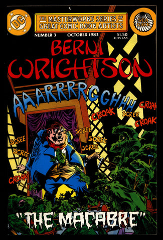 BERNI WRIGHTSON DC Comics Masterworks Series of Great Comic Book Artists #3 Illustrated Horror Fantasy Illustration Mature Comics Art*