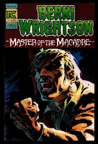 BERNI WRIGHTSON Master of Macabre #2 Pacific Comics Illustrated Horror Fantasy Illustration Mature Comics Art*