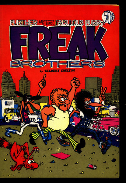 Further Adventures of the Fabulous Furry FREAK BROTHERS nn #2, 3rd, Gilbert Shelton