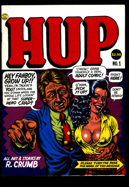 HUP #1 3rd All Robert Crumb Last Gasp Humor Underground*