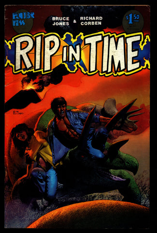 RIP IN TIME Rich Corben Bruce Jones Kaiju Heavy Metal Horror Science Fiction Fantasy Fantagor Underground Comic*