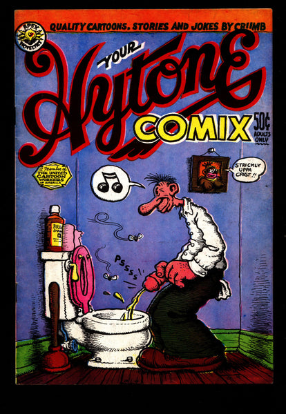 HYTONE COMIX 4th Robert Crumb Sex Drugs Humor Underground*