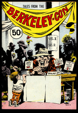 Tales from the BERKLEY-CON Program Book Comic Book Convention Bode Holmes Trina Griffin Deitch Wilson Spain Williams Underground Humor*