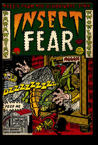 Bug Out with INSECT FEAR #2 Spain Deitch Hayes Green Osborne Mendes Wilson Science Fiction Horror Fantasy Underground Humor*