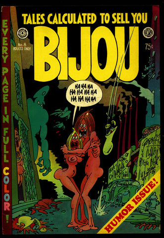 BIJOU #8 Color Harvey Kurtzman Justin Green Lynch Stout Murphy Kitchen Williamson Underground Humor*