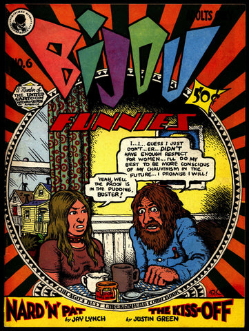 BIJOU #6 4th Robert Crumb Lynch Williamson Green Underground Humor*