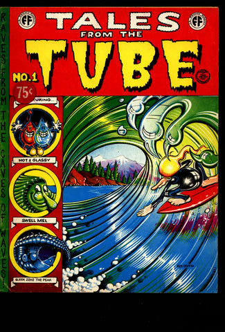 TALES from the TUBE Robert Crumb Williams Rick Griffin Wilson Chase Classic Psychedelic Surfer Surfing Underground Humor*